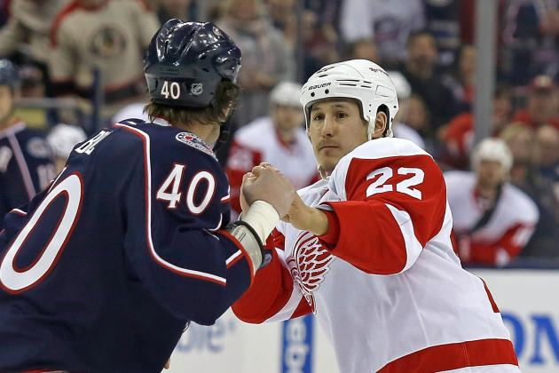 Jordin Tootoo: Detroit Red Wings Mini Pugilist Becoming Fan Favorite