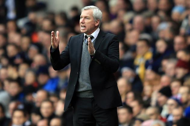 Newcastle Performance at Tottenham Encourages Alan Pardew