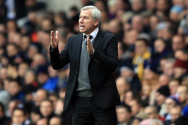 Newcastle Performance at Tottenham Encourages Alan Pardew