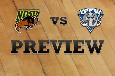 North Dakota State vs. IPFW: Full Game Preview