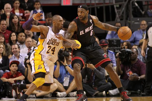 LeBron Says He Doesn't Buy the Notion That Kobe Has Become a Distributor