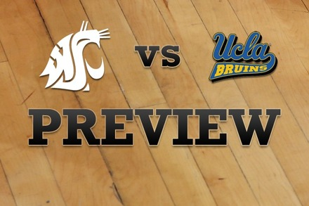 Washington State vs. UCLA: Full Game Preview