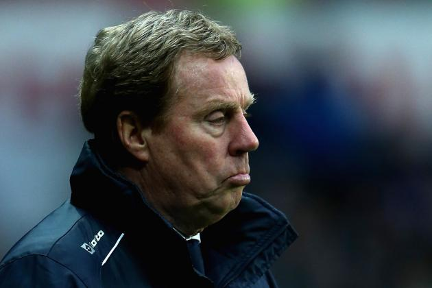 Harry Redknapp Criticises Defence After QPR Lose at Swansea