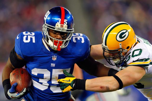 New York Giants Are Expected to Tender Running Back Andre Brown