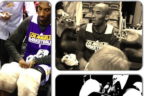Kobe's Post-Practice Routine