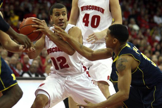 Video: Ben Brust's Buzzer Prayer Propels Wisconsin Past Wolverines