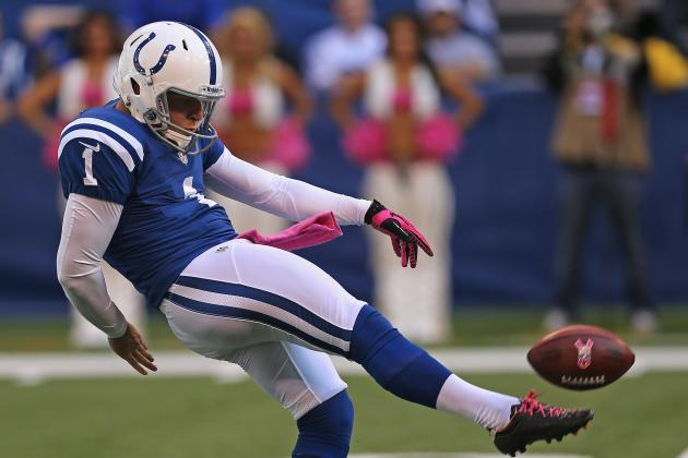 Punter Pat McAfee: 'I Hope to Be a Colt Forever'