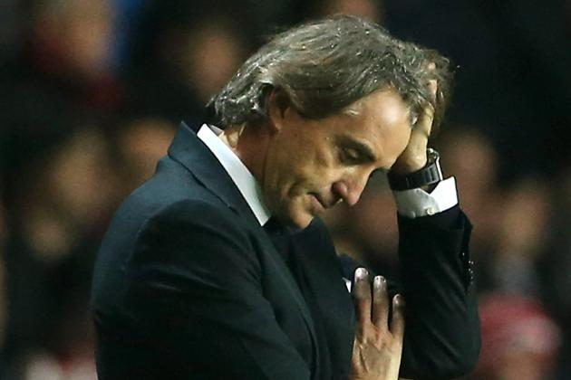 Roberto Mancini Says Manchester City's EPL Title Hopes Are Almost Finished