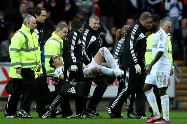 Swansea Defender Chico Could Miss Capital One Cup Final