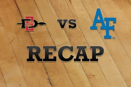 San Diego State vs. Air Force: Recap, Stats, and Box Score