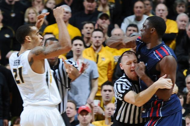 Ole Miss' Reginald Buckner Ejected for Punching Missouri's Laurence Bowers