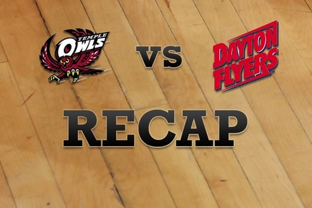 Temple vs. Dayton: Recap, Stats, and Box Score