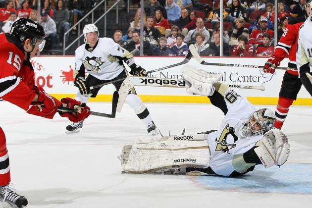 Stefan Matteau, Bobby Butler Lead Devils Past Penguins, 3-1