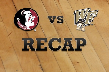 Florida State vs. Wake Forest: Recap, Stats, and Box Score