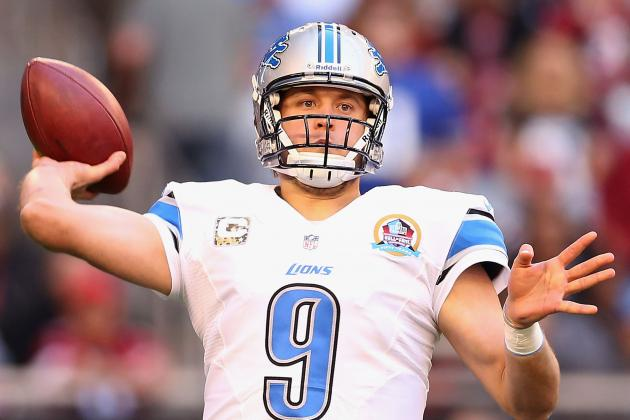 Mayhew: Lions Will 'Try to Extend' Matthew Stafford