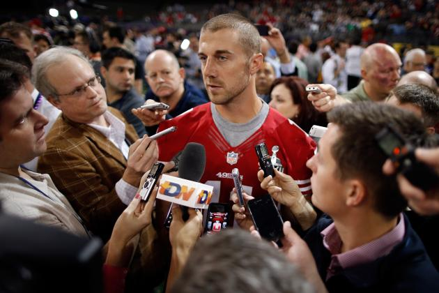 Alex Smith: 49ers' Vague Stance on QB's Future Increases Trade Value