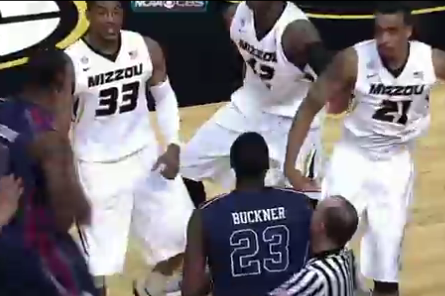 Ole Miss Forward Reginald Buckner Ejected After Throwing Punch