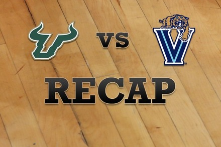 South Florida vs. Villanova: Recap, Stats, and Box Score