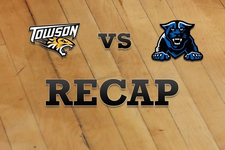 Towson vs. Georgia State: Recap, Stats, and Box Score