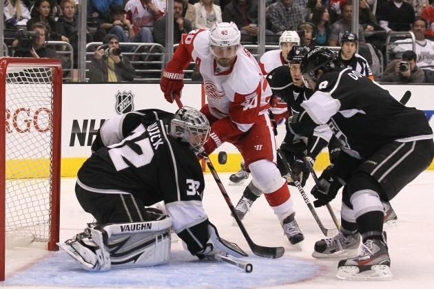 Kings vs. Red Wings: Start Time, Live Stream, TV Info, Preview and More