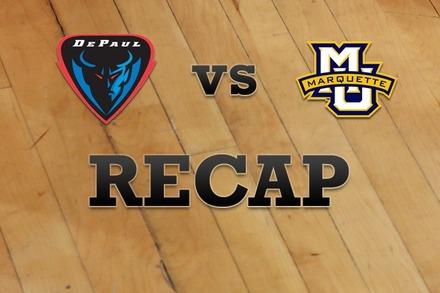DePaul vs. Marquette: Recap, Stats, and Box Score
