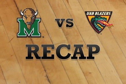 Marshall vs. UAB: Recap, Stats, and Box Score
