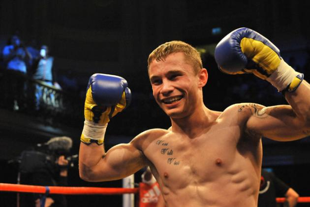 Frampton KO's Martinez in Nine: Selby, Lee, Proksa Win