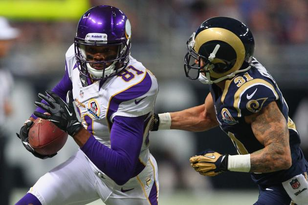 NFL Free Agency: Should the Vikings Bring Back Jerome Simpson?
