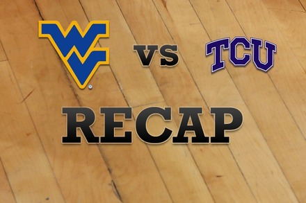 West Virginia vs. TCU: Recap, Stats, and Box Score