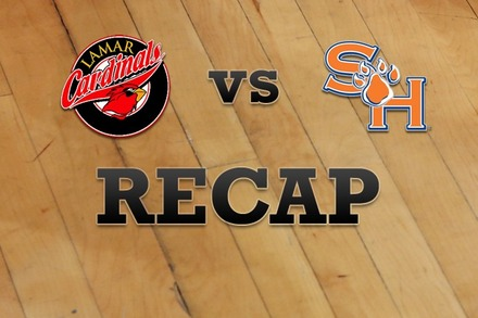Lamar vs. Sam Houston State: Recap, Stats, and Box Score