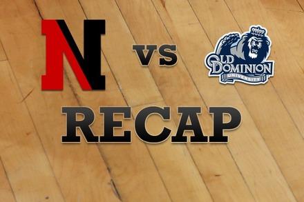 Northeastern vs. Old Dominion: Recap, Stats, and Box Score