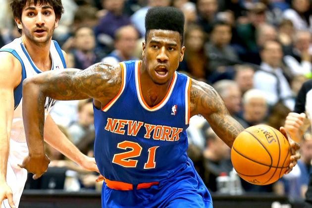 NBA Rumors: Phoenix Suns Seek Trade for NY Knicks' Iman Shumpert