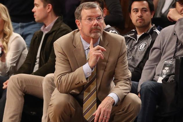 P.J. Carlesimo Trying to Figure out How to Turn Around Nets