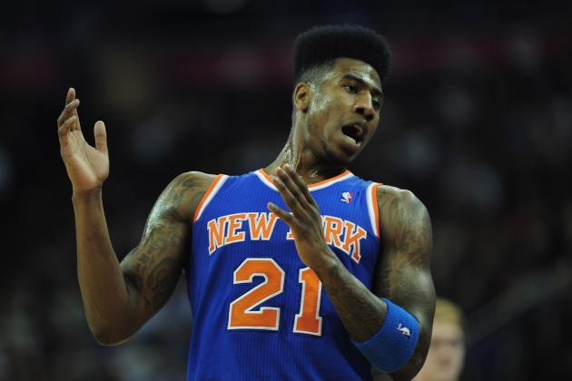 NBA Trade Rumors: Knicks Would Be Crazy to Deal Iman Shumpert to Suns