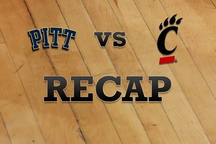 Pittsburgh vs. Cincinnati: Recap, Stats, and Box Score