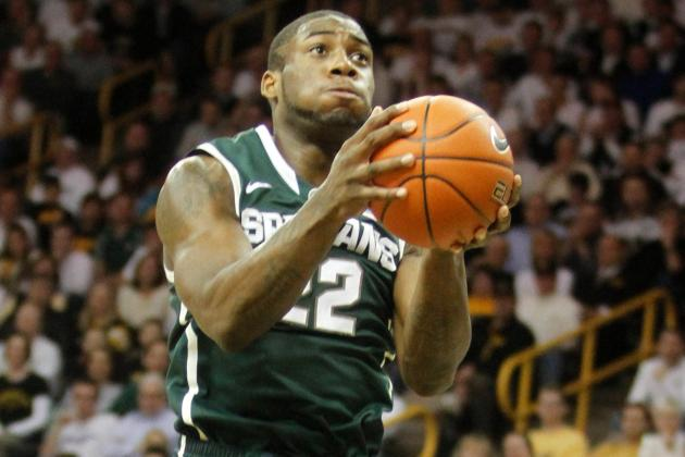 Dawson, Appling send Michigan St. past Purdue
