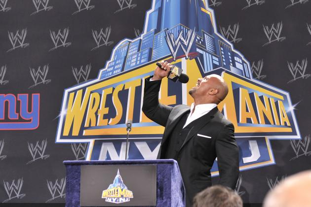Will Rock vs. Cena II Lead to Celebrity Involvement at WrestleMania 29?