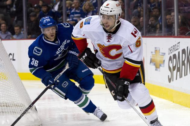 NHL Gamecast: Flames vs. Canucks