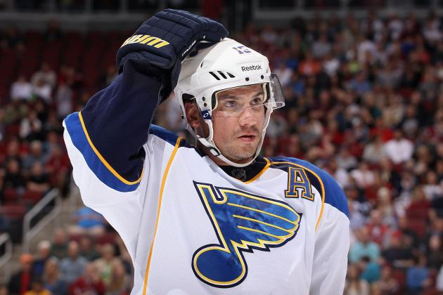 Jamie Langenbrunner Injury: Blues Star to Undergo Possible Season-Ending Surgery