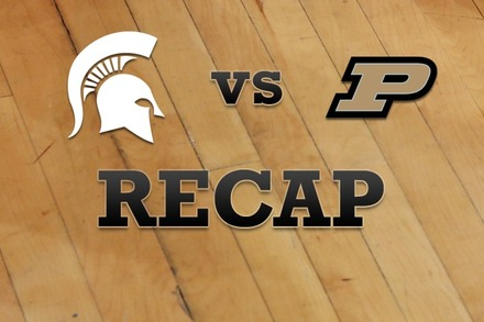 Michigan State vs. Purdue: Recap, Stats, and Box Score