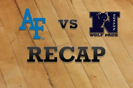 Air Force vs. Nevada: Recap, Stats, and Box Score