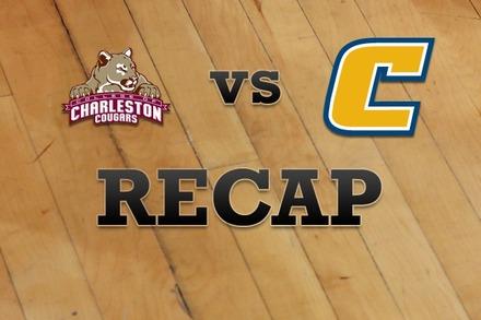 Charleston vs. Chattanooga: Recap, Stats, and Box Score