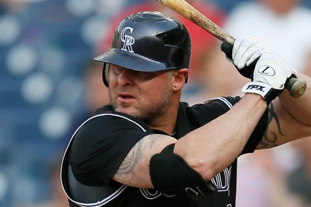 Indians Sign Jason Giambi to Minor League Deal