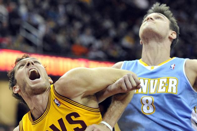 Nuggets grind out Cavaliers; win ninth consecutive game