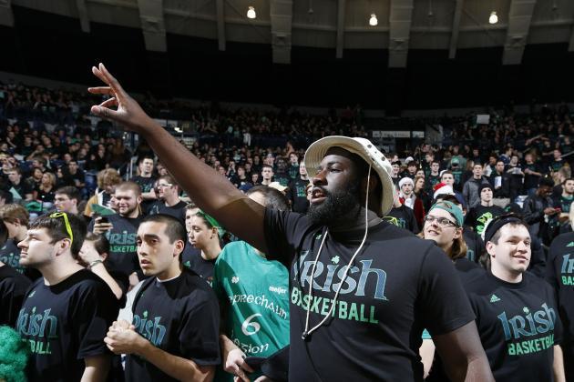 College Basketball: Notre Dame Beats Louisville 104-101 in 5OT Thriller