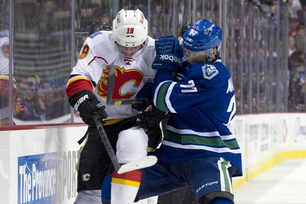 Canucks 5, Flames 1
