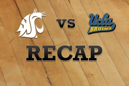 Washington State vs. UCLA: Recap, Stats, and Box Score