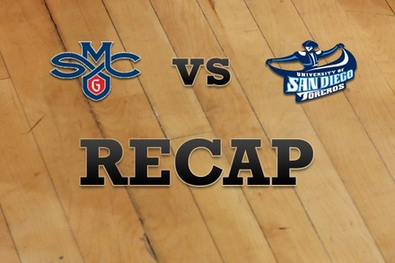 Saint Mary's vs. San Diego: Recap, Stats, and Box Score