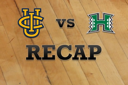 UC Irvine vs. Hawaii: Recap, Stats, and Box Score