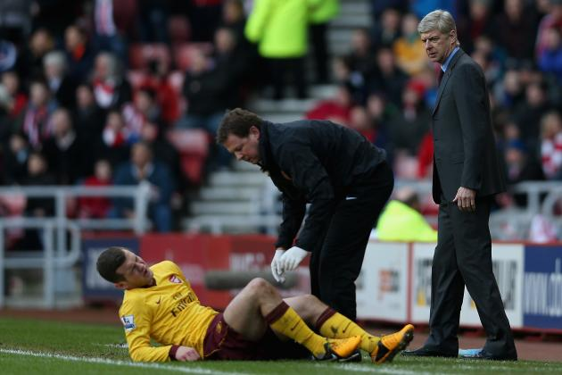Wenger Upset at Wilshere Tackles